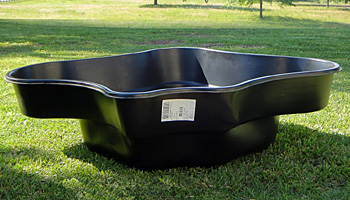 Step by step instructions for building a pond sonoran for Rigid pond liner